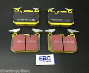 Bmw M4 Coupe - Convertible Front Brake Pads Ebc Yellow Stuff Made In England