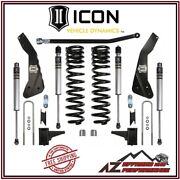 Icon 4.5 Suspension System Stage 1 For 2011-2016 Ford F250 F350 Super Duty