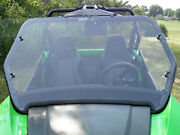 Deluxe Clear Mr10 Lexan Windshield + Qc Clamps Arctic Cat Wildcat Trail + Sport