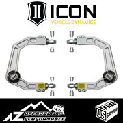 Icon Vehicle Dynamics Billet Upper Control Arm Kit For 2003-2021 Toyota 4runner