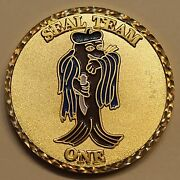 Naval Special Warfare Seal Team 1 / One Navy Large 2 Version Challenge Coin