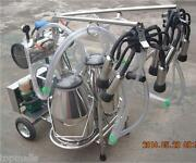Oil-free Vacuum Pump Milker For Cows + Goats - Double Tank - Factory Direct