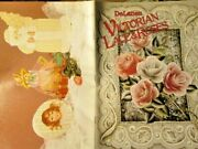 Delaneand039s Victorian Lace And Roses Painting Book Ladies Girl Gingerbread Santa