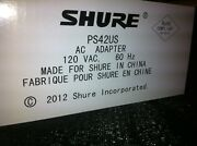 New Shure Ps43us 15vdc 600ma Power Supply For Glxd4, Ulxs4, Ulxp4, Ulxd4, And More