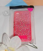 Victoria's Secret Pink Limited Edition Bling Crystal Iphone 4/4s Hard Case New