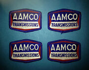 4 Lot Vintage 1980and039s Aamco Transmission Service Car Club Jacket Hat Patches 355t