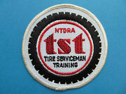 Vintage Ntdra Patch Tires Service Car Truck Coveralls Overalls