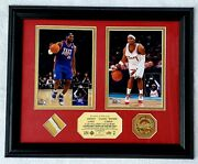 2008 Nba All-star Game Mvp Lebron James Mvp Boobie Gibson Plaque Limitd Ed 1/99