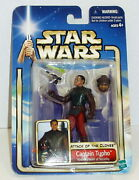 Star Wars Captain Typho '02/09 Aotc Moc Free Ship W/ Pro Packing