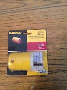 Marinco 30a 125v Male Plug 305crpn Connects To Generator Or Shore Power