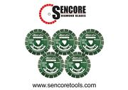 Husqvarna Excel 2000 10 Green Soff Cut Ultra Early Entry Diamond Blade 5pk