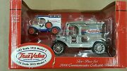 True Value 125 Scale And 143 Scale Model T Truck Bank - 2 Piece Set