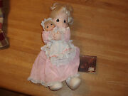 Precious Moments 1991 Doll With Baby Doll- Mint