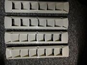 Bilge Vent Louver Pack Of 4 Off White 3 1/2 X 17 7/8andnbspmarine Bayliner Searay