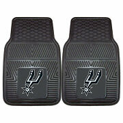San Antonio Spurs Front Heavy Duty Floor Mats For Cars Trucks And Suv's