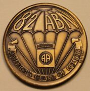 82nd Airborne Division Americaand039s Guard Army Challenge Coin