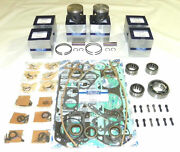 Wsm Outboard Mercury 150 Hp / 6 Cyl Rebuild Kit Top Guided 100-30-10 7441a32