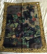 Riddle Home And Gift Large Tapestry Wall Hanging Harvest In Tuscany Grapes New
