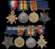 British South Africa Lot Of 8 Medals
