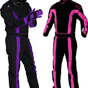 K1 - Tr2 Sfi-1 Auto Racing Suit - Nomex Style Sfi - Girls And Womens Pink And Purple