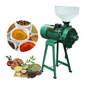 Electric Animal Poultry Feed Mill Wet Dry Grinder Corn Grain Rice 220v
