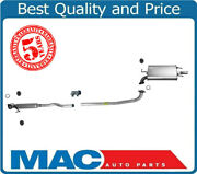 03-06 Camry Le 2.4l Exhaust System Muffler Extension Pipe Gaskets Clamps