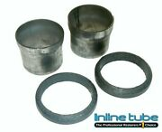 1968-72 Chevy Chevelle 2 1/2 Big Block Exhaust Head Pipe Sleeves And Gaskets