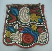 Iroquios Beaded Reservation Possibles Bag New York Artifact Collectible Relic