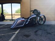 2014-17 Touring Harley Stretched Scalloped Saddlebags And Rear Fender