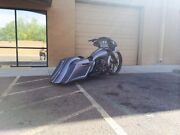 2014 2015 Harley Stretched Saddlebags And Rear Fender Short Neck 30 Combo