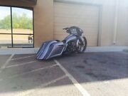 2014 2015 Harley Stretched Saddlebags And Rear Fender Short Neck 26 Combo