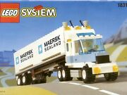 Lego Town Classic Town Cargo 1831 Maersk Sealand Container Lorry New Sealed
