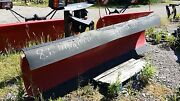 Western Ultra Mount 8.6 Ft. Hydraulics Front Part Only Snow Plow Snowplow 20