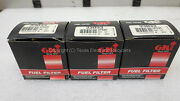 New Old Stock - Lot Of 3 Gk 33033 Gf69m Fuel Filter