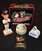 Sacramento River Cats - Lot Of 5 Collectible Souvenirs Lunch Box And More