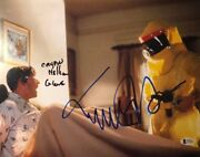 Michael J Fox Crispin Glover Signed Autographed 11x14 Photo Back To The Future