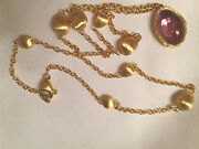 Marco Bicego 16 Confetti With Amethyst Necklace Made In Italy Brand New Video