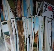 Lot Of 180 Vintage Collectors Postcard Post Cards Dealer Lot Pm Early 1900s