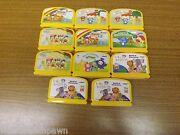V.smile Baby 11 Game Lot Mickey, Noah's Ark, Baby Einstein, Teletubbies And More
