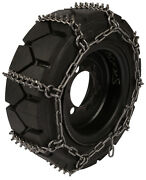 Quality Chain 1509studded 8mm Studded Link Skid Steer Bobcat Tire Chains Snow