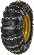 Quality Chain 6524-2 11mm Square Link Loader Grader Tire Chains Snow Traction