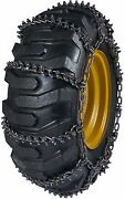 Quality Chain 9942 11mm Studded Link Loader Grader Tire Chains Snow Traction