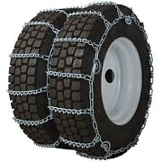 Quality Chain 4855qc Dual/triple 8mm V-bar Link Cam Tire Chains Commercial Truck