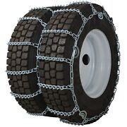 Quality Chain 4857qc Dual/triple 8mm V-bar Link Cam Tire Chains Commercial Truck