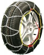 225/75-14 225/75r14 Tire Chains Diamond Back Link Traction Passenger Vehicle