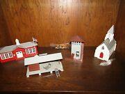 Vintage Original Train Buildings And Signs 1940and039s And 1950and039s