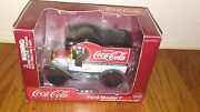 Ford Model T Delivery Truck Coca Cola Diecast Model Collectible Coin Bank
