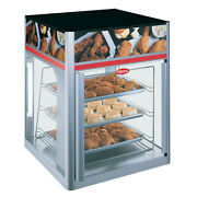 Hatco Fsd-2x Hot Food Display Case W/ 2 Doors And 3 Tier Circle Rack Without Motor