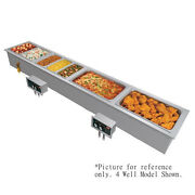 Hatco Hwbi-s3da Slim 3 Pan Drop-in Modular Heated Well With Drains And Auto-fill
