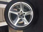 Scorpion Pirelli Snow And Ice Tires 275/40r Mounted On 20 Inch Porsche Rims